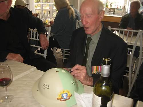 Anzac Day 2016 2nd/48th Commemorative Helmet