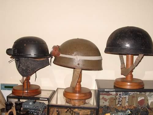 Fibre rim royal armoured corps