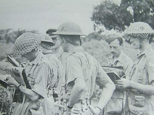 WW2 RA Desert tan MKII.