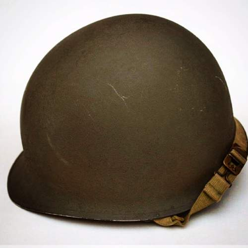 M1 FB helmet and liner