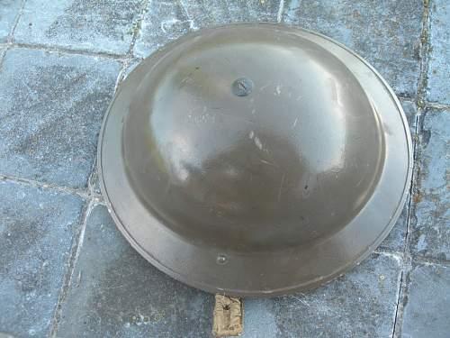 British Mk II helmet by BMB dated 1939