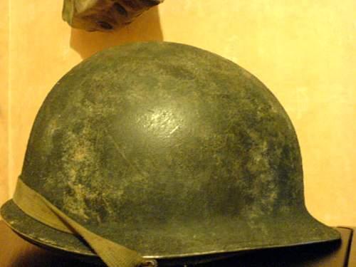 Argentinian M2 paratrooper helmet