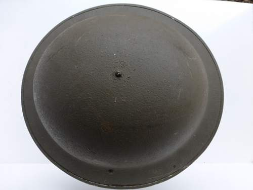British MkII helmet...Afrika?