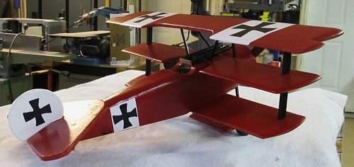 A Fokker DR 1 I am building