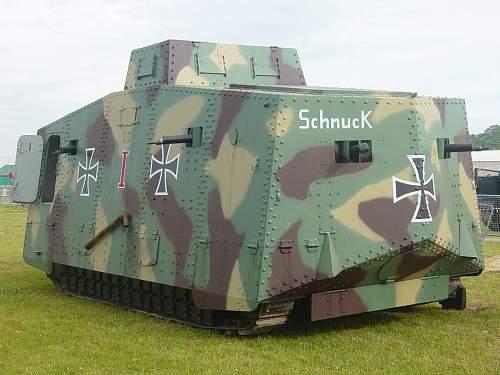 WW1 Panzer !