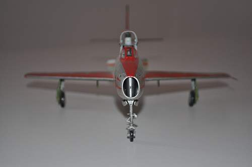 "F-84 F Thunderstreak ""Diavoli Rossi"""