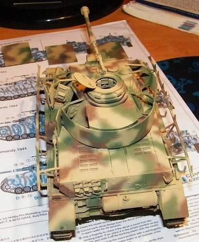 PanzerIV H work in progress