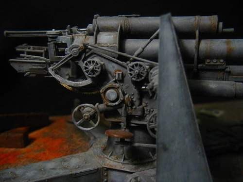 88mm Flak, Berlin, May 1945, 1/35