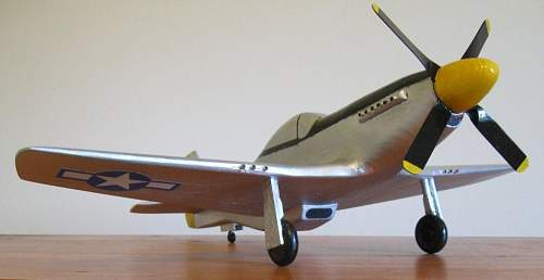 P51-D Mustang 1:24 scale.