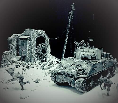 Mery Christmas, Ardennes 1944.