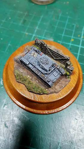 Panzer 2 Ausf B 1/144th scale