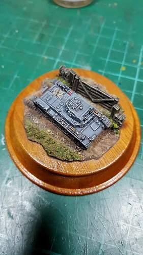 Panzer 2 Ausf B 1/144th scale
