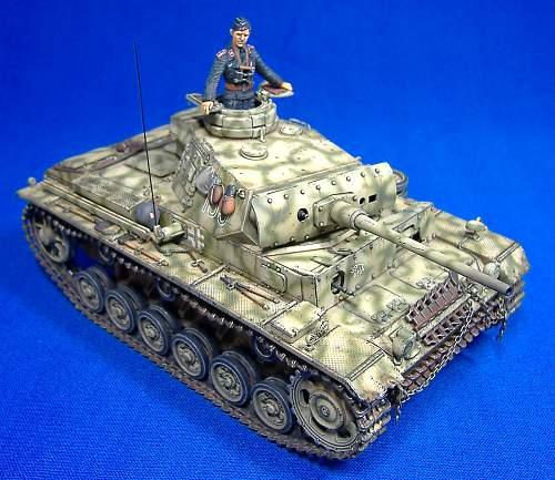 Panzer 3 Ausf.L, s.Pz.Abt. 502 Russia 1942.