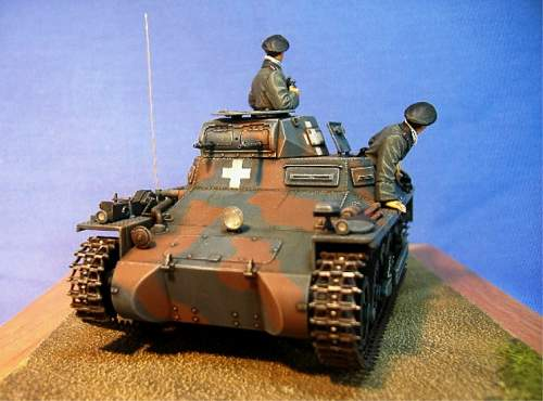 Panzer 1 Ausf A Late (Polish Campaign) by Tristar.