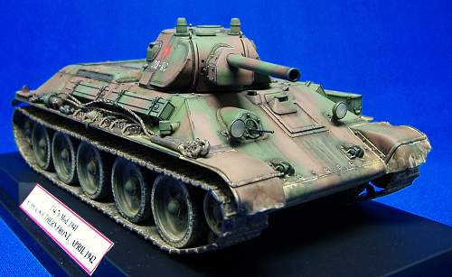 T34/76 Mod 41. Russia southern front April 1942. Dragon 1/35th.