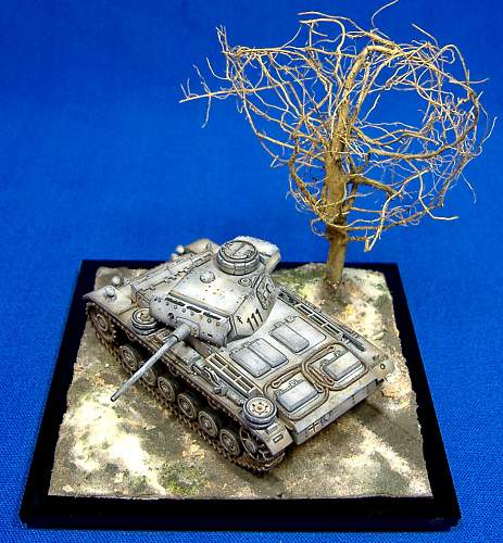 1/72nd scale Panzer 3M & Panzer 3L.