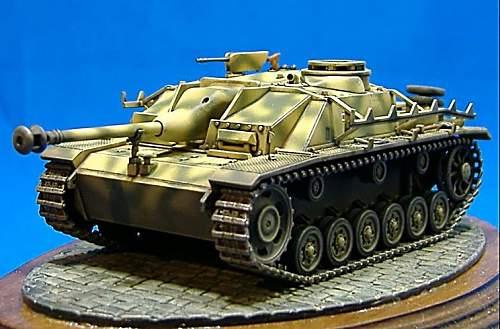 1.72nd scale. Sturmgeschutz 3 Ausf.G. & Sturmgeschutz 4.