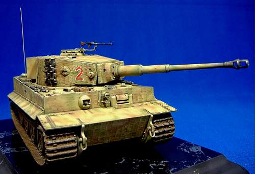 1/48TH Scale - Tiger 1 late production.