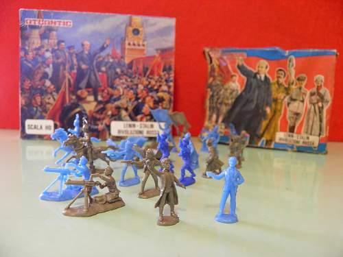 Italian Atlantic plastic soldiers