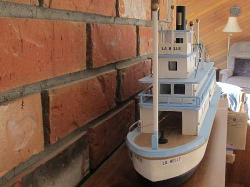 Sternwheel River Boat