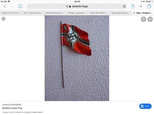 Where can I get elastolin flags?