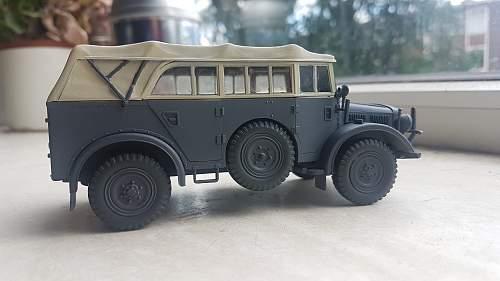 Tamiya Horch 4x4 Type 1a