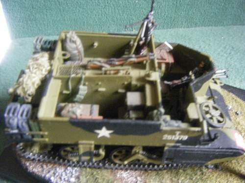 Tamiya Universal (Bren) Carrier Mk II. 1/35th scale