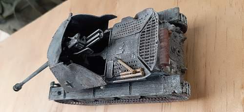 Shed ( my ) find - 1/9th Kubelwagen