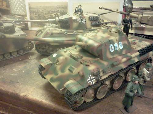My German Tank  Diorama!
