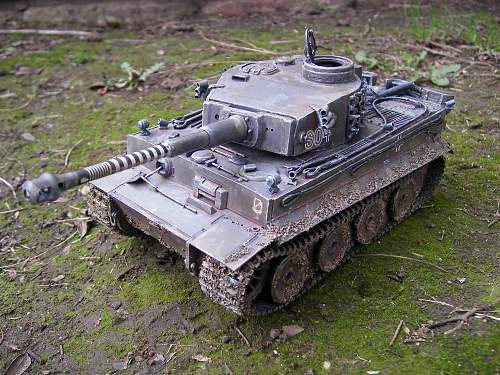 Panzer I recently built and painted