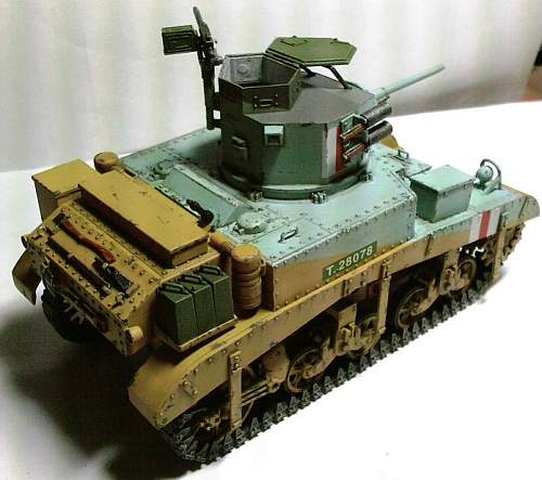My attempts at military modelling