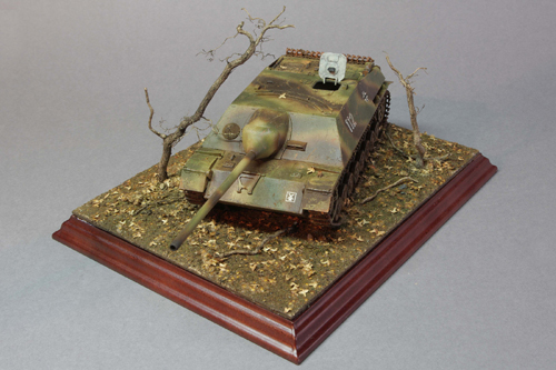 Jagdpanzer IV model just finished