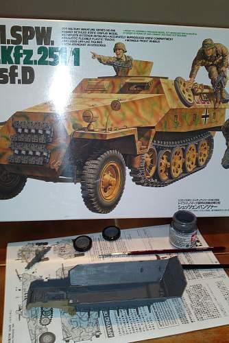 My 1/35 Tamya sd.kfz. 251