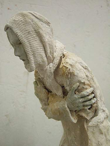 My Stalingrad Shortlisted sculpture for the Threadneedle Prize , Mall galleries , 26th Sept