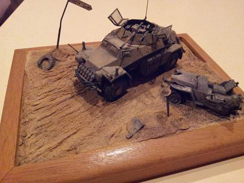 'The road to Tobruk' and a battle weary jeep
