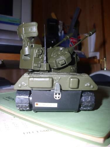 Dinky Leopard AA Tank (Gepard).............