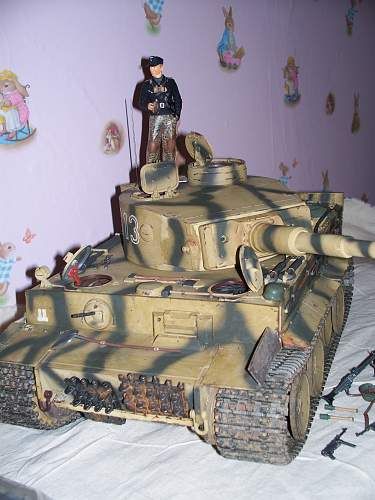 1/16TH RC Tiger tank.