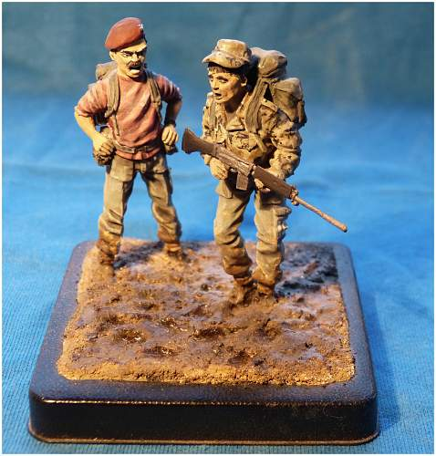 Parachute Regiment P Company In Miniature