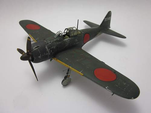 What I have been doing - Tamiya 1/72 A6M5 Zero