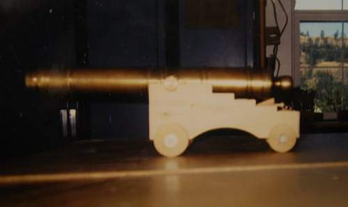 6 Pdr. Cannon