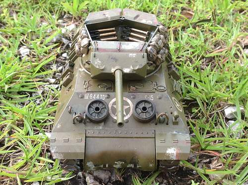 My grandfather's tank destroyer