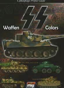 Camouflage profile guide Waffen SS colors
