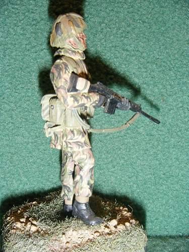 Click image for larger version.  Name:2. 54mm. British infantry. Falklands 1982.jpg Views:126 Size:256.8 KB ID:74734