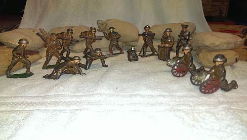 1970s Toy Soldiers
