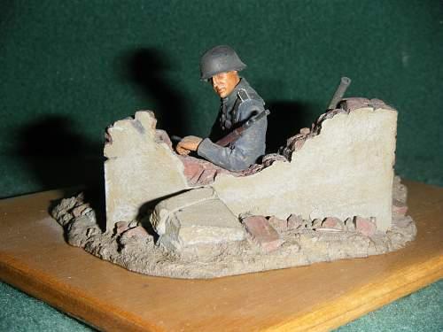 Click image for larger version.  Name:1. 54mm. German tank hunter WW2.jpg Views:138 Size:242.8 KB ID:76395