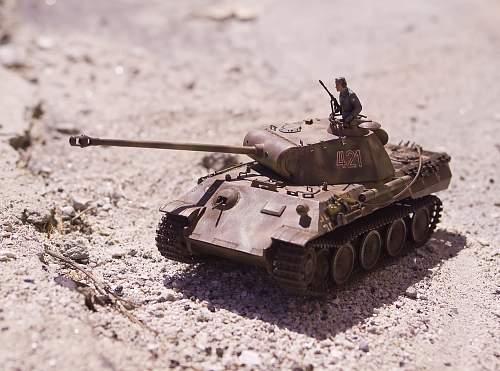 Tamiya 1/32 Panther Tank model