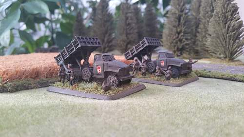 15mm T34/76 and White Scout Car