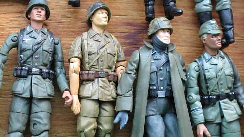 1/18th Scale 21st Century Brand German Figures with accessories