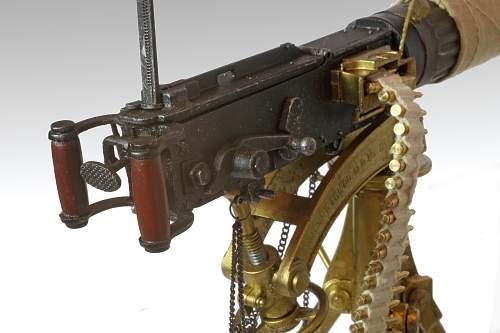Model Vickers Gun