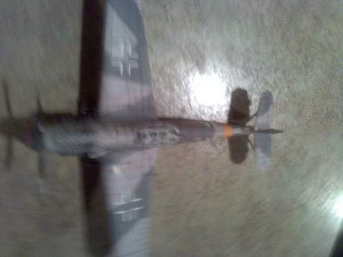 paper model of Messerschmitt BF-109